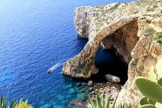 Blue Grotto, Malta ( Wied Iz Zurrieq) by nomad for life, via Flickr