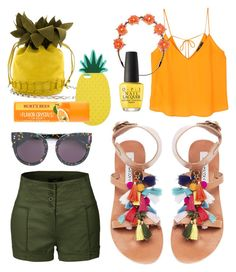 """Festival Chic"" by aheavingham on Polyvore featuring Steve Madden, LE3NO, MANGO, Carole, STELLA McCARTNEY, Miss Selfridge and OPI"