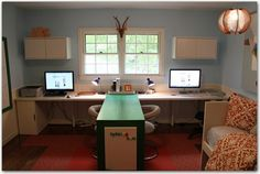 Awesome homeschool room makeover by beverley
