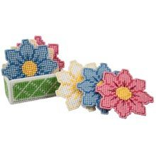Craftways® Daisy Coasters with Holder
