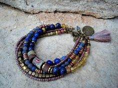 Bohemian Bracelet / Gypsy Bracelet / Boho Jewelry / by Syrena56, $48.00