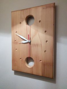 My first wood wall clock...