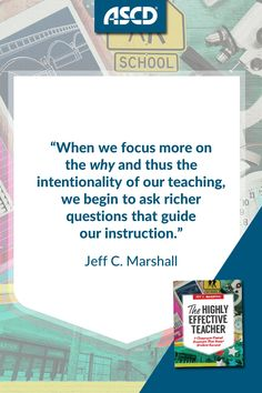 The Highly Effective Teacher is a guidebook for thoughtful, intentional teaching with one goal: success for all students in every classroom.