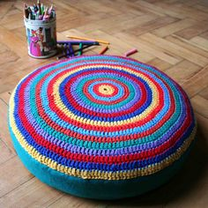 Always in Trend present you 18 cool ideas how to reuse old tires. These ideas are very creative and interesting. Reuse Old Tires, Reuse Recycle, Recycled Tires, Upcycled Home Decor, Repurposed, Tire Ottoman, Ottoman Cover, Tire Furniture, New Homes For Sale