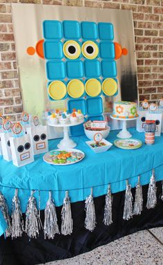 Robot Factory Birthday Party by Julie Verville
