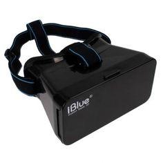 "iBlue Illusion Mask 3D Google Cardboard for Smartphones 3.5-5.6"" 3d Glasses, Virtual Reality, Illusions, Smartphone, Google"