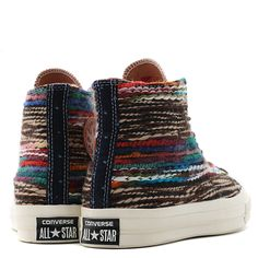Converse All Star Chuck Taylor Woven Fabric Version Converse Star, Converse Shoes, Vans Sk8, Woven Fabric, Chuck Taylors, 1970s, High Top Sneakers, Fall, Collection