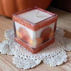 Pumpkin Cub Candle by InspiringFotos on Etsy
