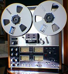 my dad would tape all his parties on one of these, so he could remember or hear a joke he missed.