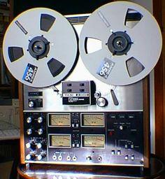 TEAC A-3340 4-track tape deck - - www.remix-numerisation.fr - Numérisation de…