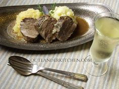 Roasted Pork Tenderloin with Cider Sauce, Neeps and Tatties – Outlander on STARZ Episode 104
