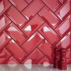 Lee Caroline - A World of Inspiration: Kitchen Tile Inspiration - Subway style