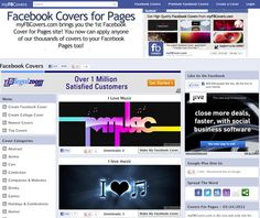 5 sites for cover photos