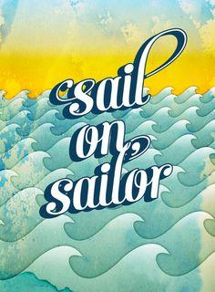 The Beach Boys - Sail On, Sailor - 1973 Album=1973 Song Lyrics
