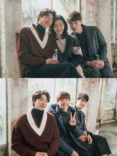 '도깨비' 공유-이동욱-김고은-육성재, 화기애애 도깨비 패밀리의 '절친 인증샷'