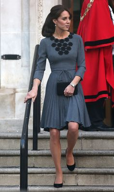 Kate Middleton Stuns During a Solo Appearance in London