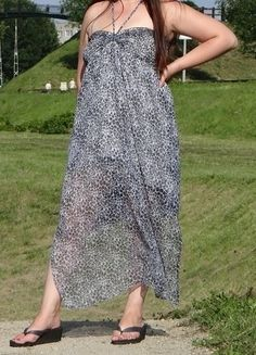 Kup mój przedmiot na #vintedpl http://www.vinted.pl/damska-odziez/dlugie-sukienki/15239663-sukienka-szyfon-panterka-maxi