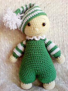 Ravelry: Cuddly-baby - amigurumi doll pattern by Mari-Liis Lille €4.00.