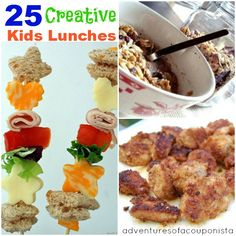 25 Creative Kids Lunch Ideas - Adventures of a Couponista