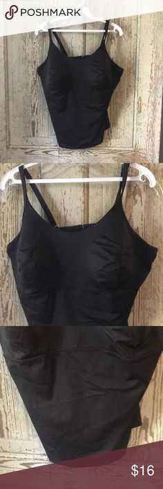 327075c7d5635 Lands End tankini size 14DD Lands End tankini size 14DD No rips or stains  Dark brown