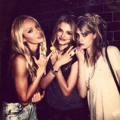 Candice, Lily, Cara