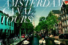Amsterdam Canal Tour - Study Abroad trip - summer 1999
