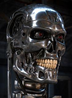Terminator Tattoo, T 800 Terminator, Military Robot, Badass Skulls, Robot Hand, Indie Art, Armor Concept, Robot Design, Dc Comics Art
