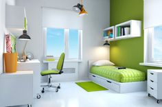Teen room quick tricks love the simplicity of this room!