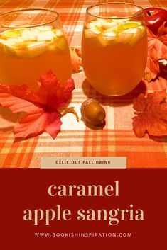 Caramel Apple Sangria - try this delicious fall drink! New Years Eve Drinks, New Year's Drinks, New Year's Eve Cocktails, Fall Drinks, Holiday Drinks, Cocktail Drinks, Salted Caramel Vodka, Caramel Apples, Carmel Apple Sangria