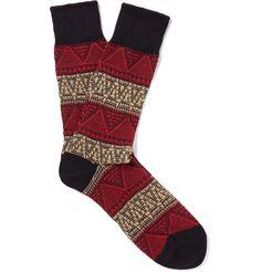 Anonymous Ism - Jacquard-Knit Socks