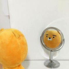 Discovered by 복숭아. Find images and videos about cute, korean and kawaii on We Heart It - the app to get lost in what you love. Korean Aesthetic, Aesthetic Colors, Aesthetic Pictures, Orange Aesthetic, Humor Fotografia, Stuffed Animals, Kakao Friends, Rilakkuma, Mellow Yellow
