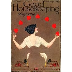 Look what we found in our archives: Happy Valentine's Day from 1913! #vintage #goodhousekeeping
