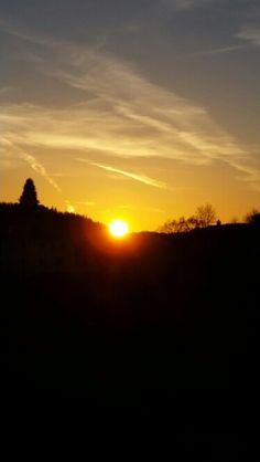 Sunset fra Laksevåg!