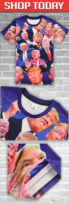 Donald Trump 3D Shirts! Click The Image To Buy It Now or Tag Someone You Want To Buy This For. #trump