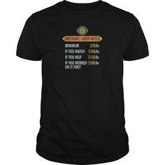 Mechanic labor rates - Unisex Tri-Blend T-Shirt by American Apparel+UGATZUW Shirt