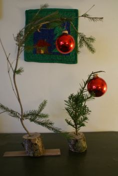How to Make a Charlie Brown Christmas Tree