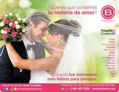 ¿Te vas a casar? ¡Muéstrate espectacular en tu boda y sé la envidia de todas! Cobertura en todo México. Manda WhatsApp y conoce la promoción del mes: (744) 463 5580. Pocos Espacios. https://www.facebook.com/omarbahenarocks
