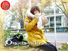 Joy, my pretty baby, took on Omotesando.