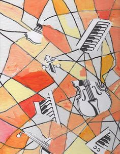 Cubism and Picasso, a simple lesson