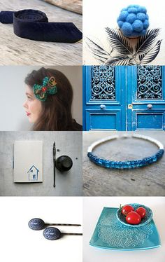 Back to... blue by Mammabook on Etsy--Pinned with TreasuryPin.com