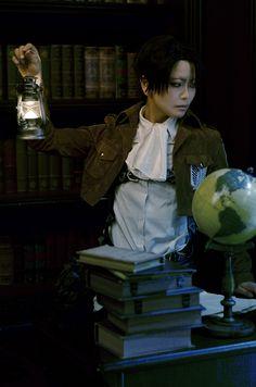 リヴァイ - Tomoka Ayuri(Ayuritomoka) Levi Ackerman Cosplay Photo - Cure WorldCosplay