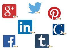 Encuéntranos en Facebook, Twitter, Pinterest, Linkedin, Google+, Tumblr y La Gazzetta Df