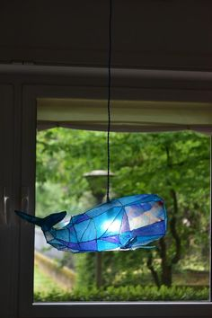 Lampadario sospensione fantasia bambini La Balena Belen pezzi | Etsy Fish Lamp, House By The Sea, Blue Whale, Abstract Images, Chandelier, Ceiling Lights, Led, Frame, Unique