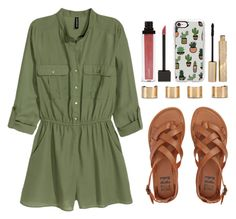 """""""DEAR MARIA,"""" by m-phil ❤ liked on Polyvore featuring H&M, Maison Margiela, Billabong, Casetify, Jouer and Stila"""