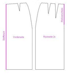 Basis-Schnittmuster für einen Rock