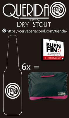 Cerveza QUERIDA en el buen fin       Cerveza QUERIDA te regala una mochila#ElBuenFinpor un SixPack de compra#cerveceriacoral#cervezaartesanal   #CervezaQUERIDA  #CervezaQUERIDA Shopping, Backpack, Te Quiero