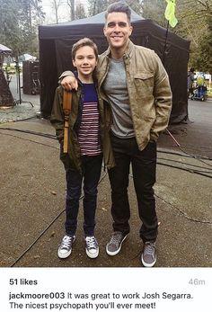 Josh & Jack #Arrow #Season5Finale - BTS