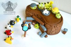 Angry Birds Cake Toppers