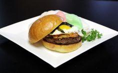 Nom Nom Burgers: Kalbi burger with kimchi? I'm in