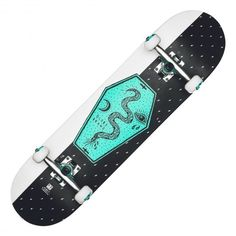 GLOBE Coffin Complete skateboard en kit black white 8 pouces 99,00 € #skate…